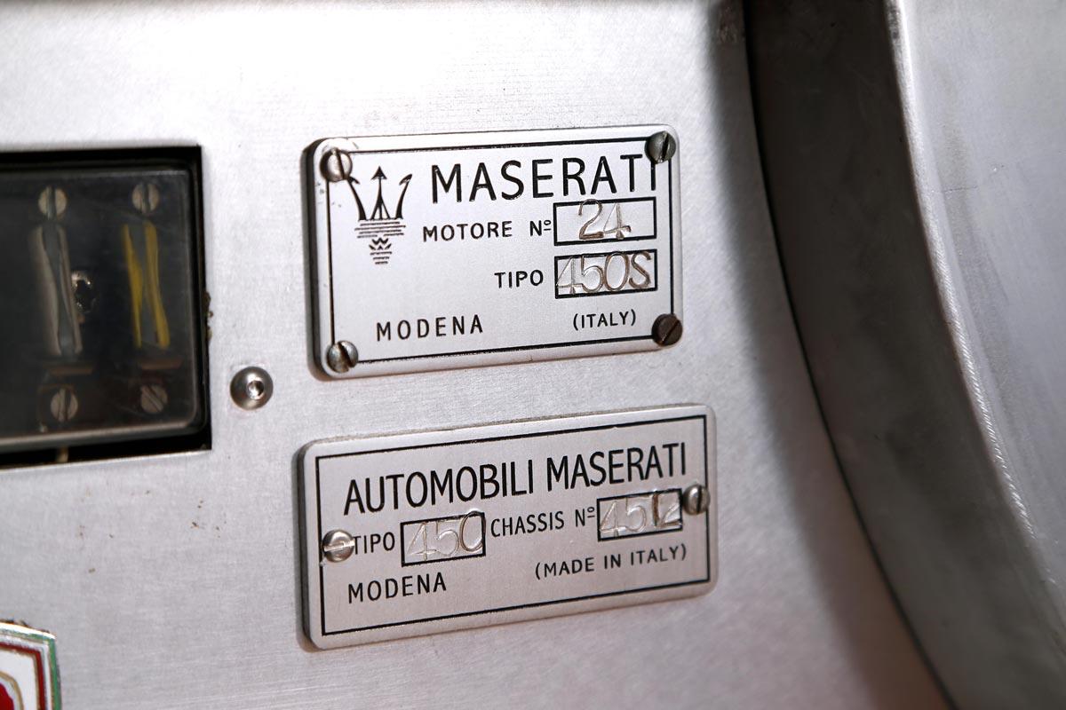 MASERATI / 450S Replica